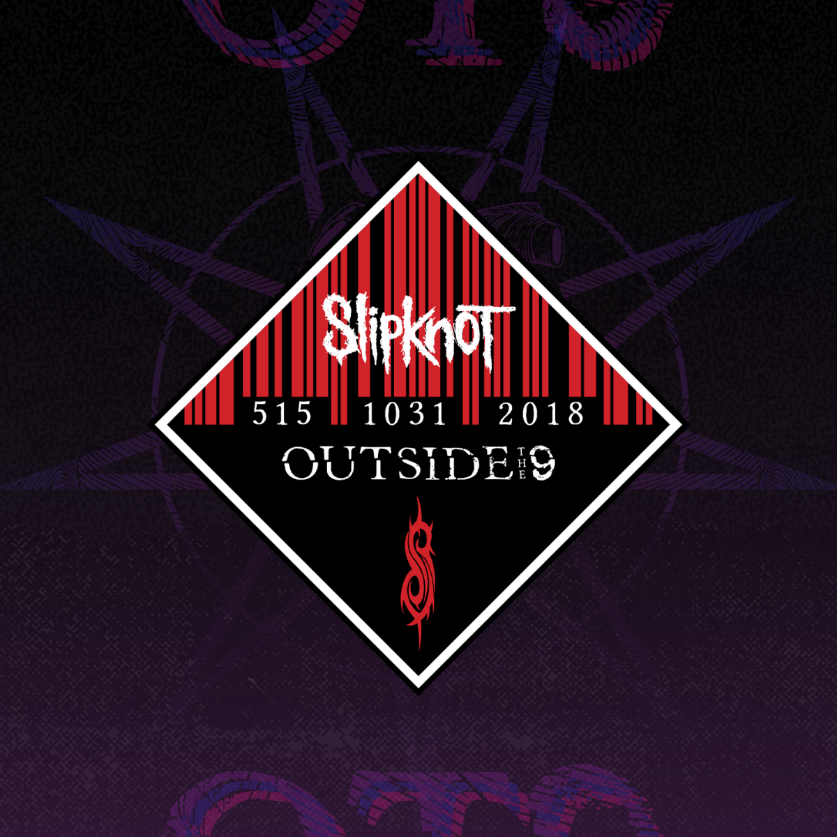 OT9 Barcode Patch (Red)