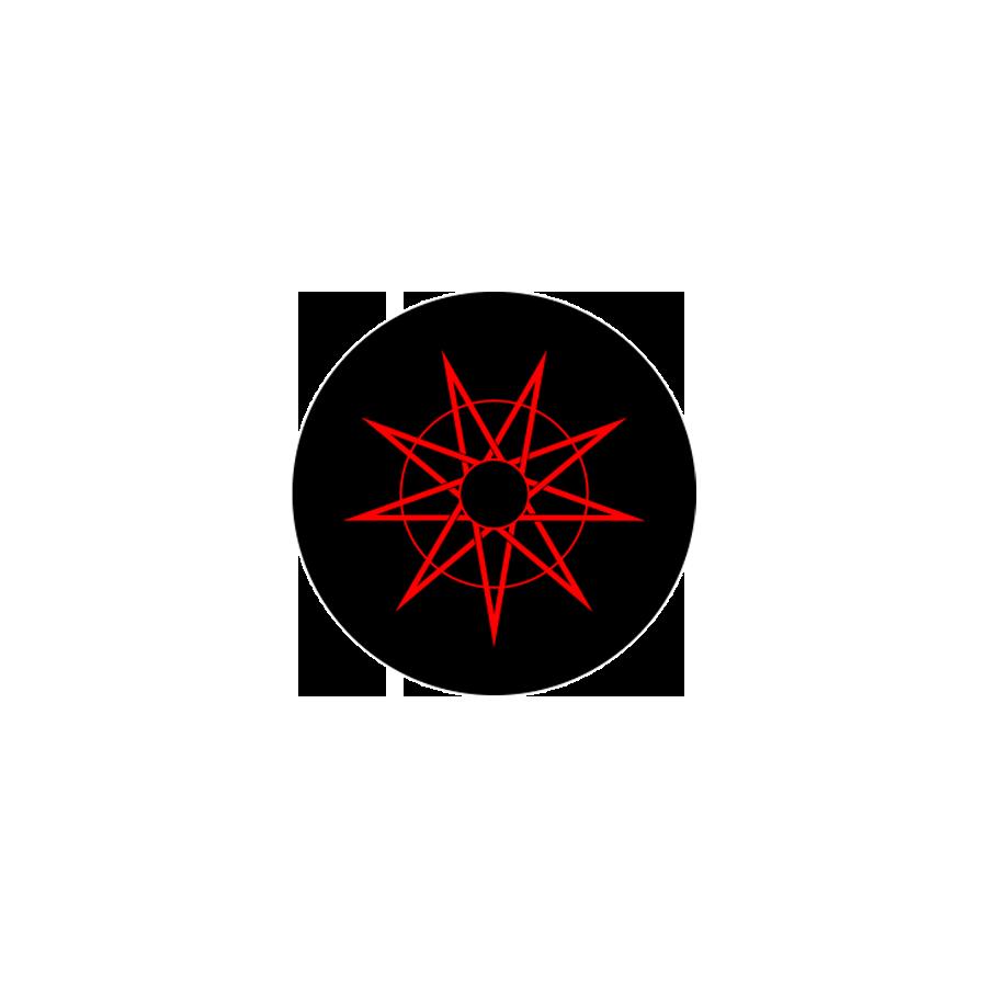 9-Point Star Button 001
