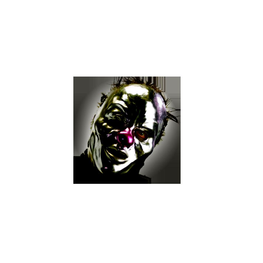 Clown Button 001