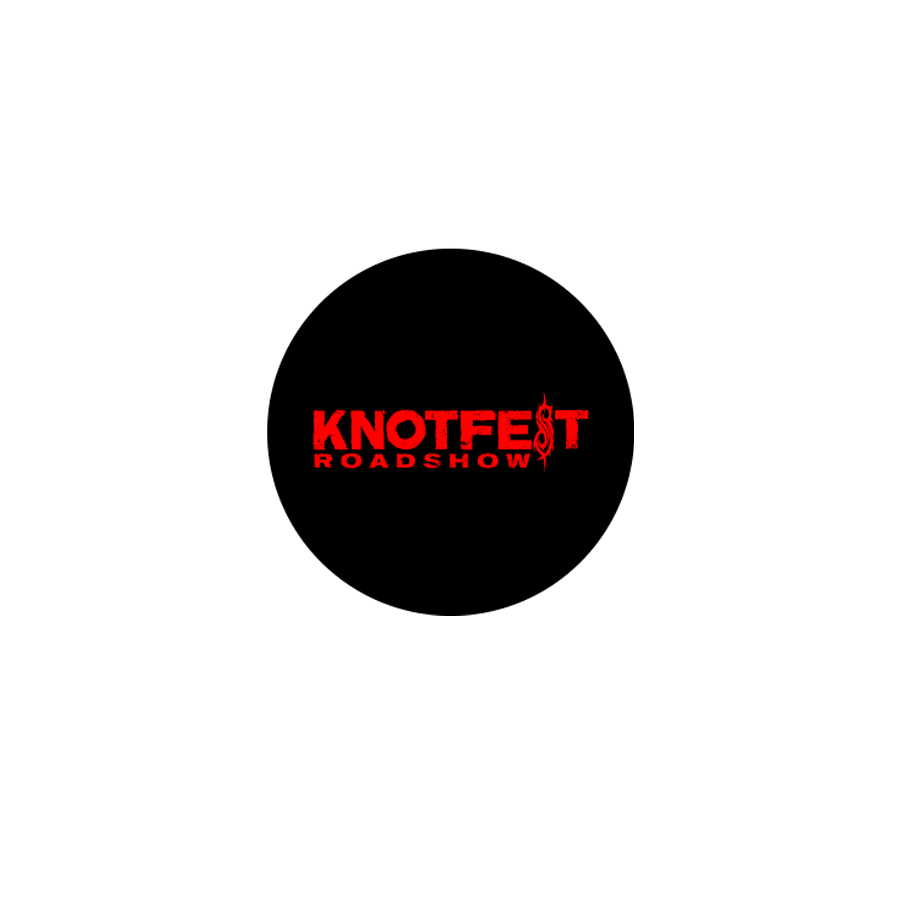 Knotfest Roadshow Button
