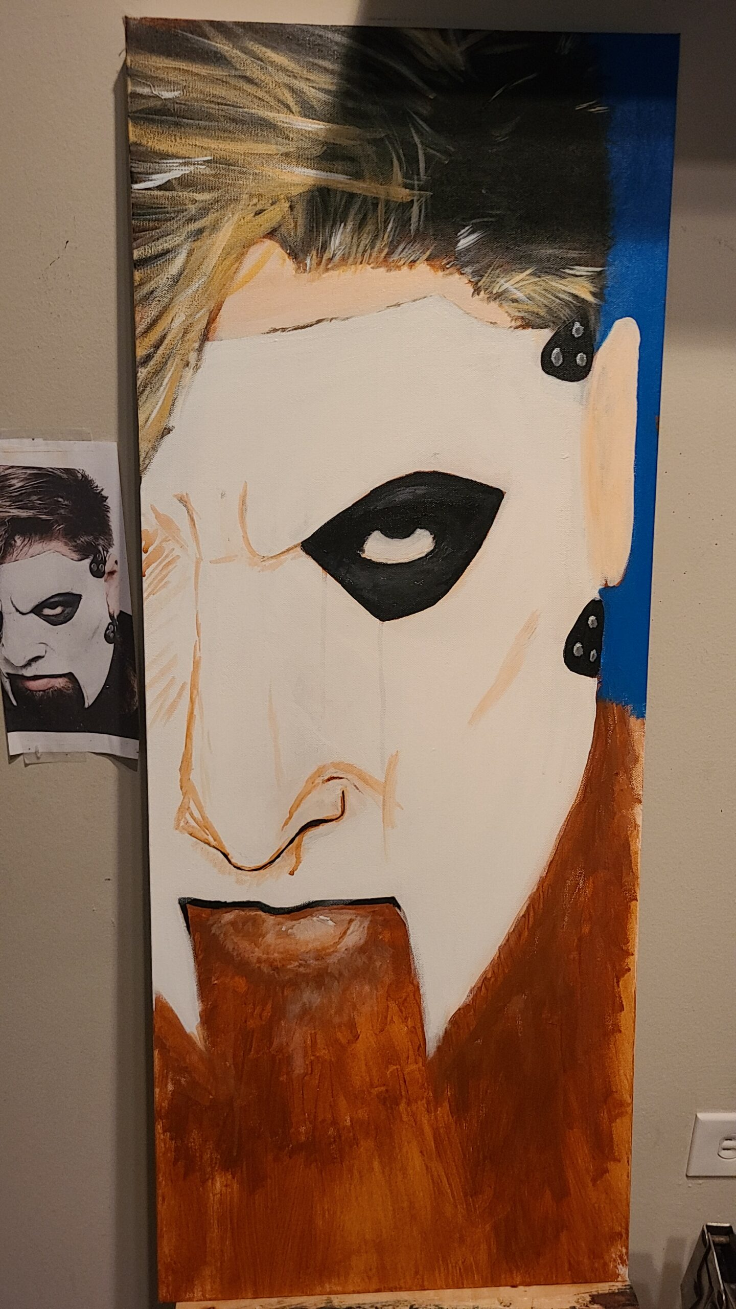 Painting James