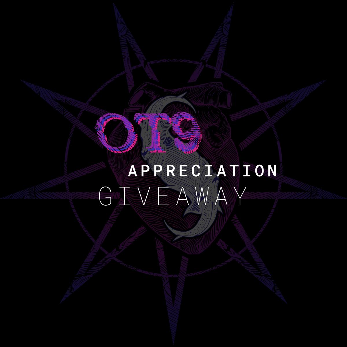 OT9 Appreciation Giveaway